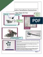 Power Window Installation Manual