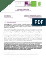 Guion Aprendizaje GestiónArtísticayCultural MªMercedes Gonzalez