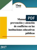 Manual para la Prevencion y Atencion de Conflictos 2017.pdf