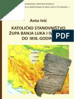 Katolicko Stanovnistvo Zupa Banja Luka i