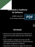 Qualidade e Auditoria de Software