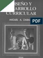 Zabalza_Diseño curricular