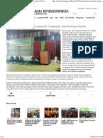 Alumni Harus Jadi Duta Madrasah, Madrasah Jadi Destinasi Wisata