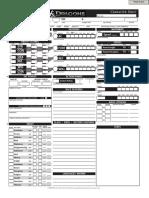Dungeoeeeeeens & Dragons 4th Edition Character Sheet