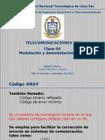 Telecomunicaciones III - Clase 04 - Qpsk