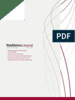 Risk Metrics 2008