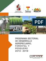 04-Programa Sectorial de Desarrollo Agropecuario, Forestal y Pesquero