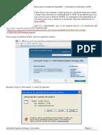 Web Service Afip - Openssl y Certificado Afip