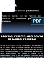 Geomorfologia - Cap 3 - Procesos Gravitacionales.pptx