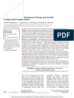 Long-term Exposure to Testosterone Therapy and the Risk of High Grade Prostate Cancer