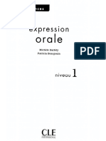 Expression Orale 1