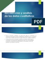 Recoleccion y Analisis de Los Datos Cualitativos