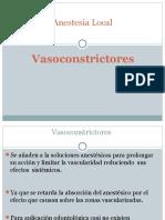 Vasoconstrictor Es