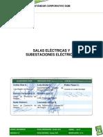 SGI-E00008-01 - Estandar Corporativo Salas Eléctricas y Subestaciones Eléctricas
