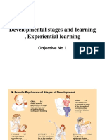 Developmemtal Stages in Learning