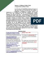 romanos y galatas comparados.pdf
