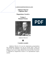 Magnetismo Curativo - Volume 1 (Alphonse Bouvier).pdf