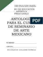 Antología de Seminario de Arte Mexicano %28Color%29