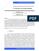 Glocal Strategy of Global Brands