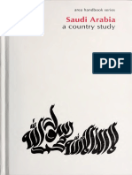 Saudi Arabia a Country Study
