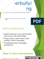 Ways to Stop Cyber-bullying
