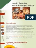 Microbiología de Los Alimentos de Origen Animal