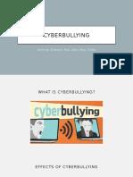 Cyber Bullying English Oral