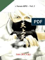 Livro Dos Jogadores de Naruto R.P.G. 2º Vol.