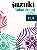 Suzuki Guitar Vol 8