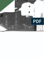 Granger, Gilles Gaston - A Ciencia e as Ciencias