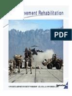 Airfield Pavement Rehabilitation