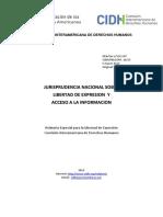 Jurisprudencia nacional sobre libertad de expresion y acceso a la informacion.pdf