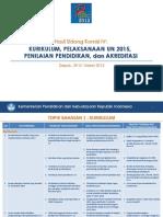 Rnpk 2015 - Hasil Komisi IV Litbang