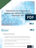 Siemens - Fabricación de Máquinas de Soplado de Botellas PET Usando PROFINET IRT