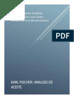 Determinación de agua mediante el método Karl Fischer.docx