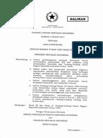 UU 2 Thn 2017 Jasa Konstruksi