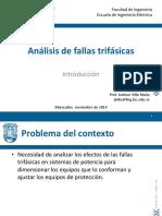 Análisis de Fallas. Introduccion