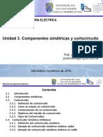 Compenentes Simétricas y Cortocircuito