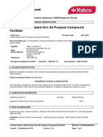 Yates Instant-gro All Purpose Compound Fertiliser-Aus Ghs