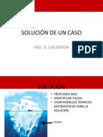 SOLUCIÓN DE UN CASO
