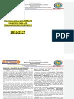 Convencion Colectiva 2015-2017 venezuela sector electrico