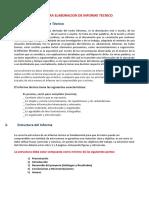 Guia Para Elaboracion de Informe Tecnico