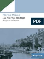 La Hierba Amarga - Marga Minco