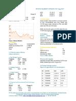 Market Update 03rd Aurgust 2017