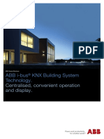 ABB Product Range KNX Sensors I-bus