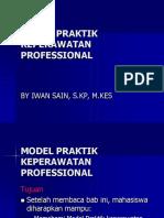 2 Model Praktik Keperawatan Professional