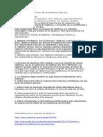 Jerarquia de Objetivos de Chiavenato Pag 200