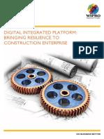 Digital Integrated Platform Bringing Resilience to Construction Enterprise