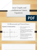 02 CH 02 Linear Graphs and Simultaneous Linear Equations