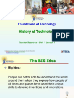 Foundations of Technology - History of Technology.ppt